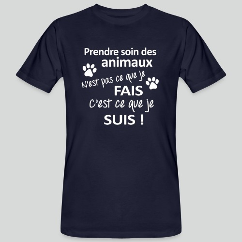 Prendre Des Soins Des Animaux - T-shirt bio Homme