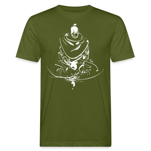 Iaido Samurai Zen Meditation - Men's Organic T-Shirt