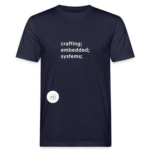 esrlabs_tagline - Men's Organic T-Shirt