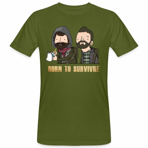Born to Survivre - T-shirt bio Homme