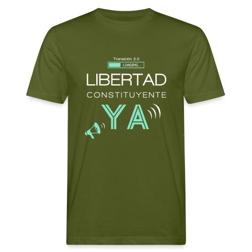 Libertad Constituyente ¡YA! - Camiseta ecológica hombre
