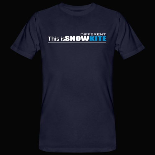 this is snowkite - T-shirt bio Homme