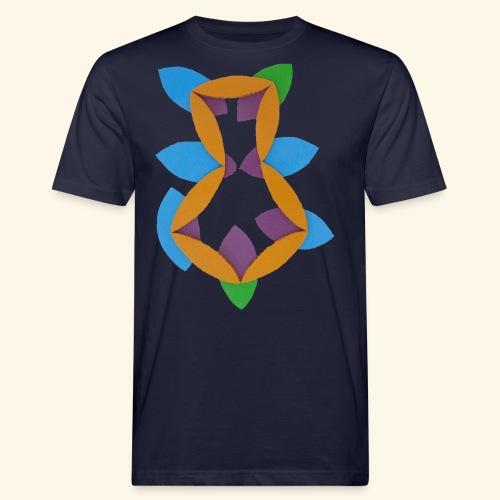 oranjeblanjebleu - Mannen Bio-T-shirt