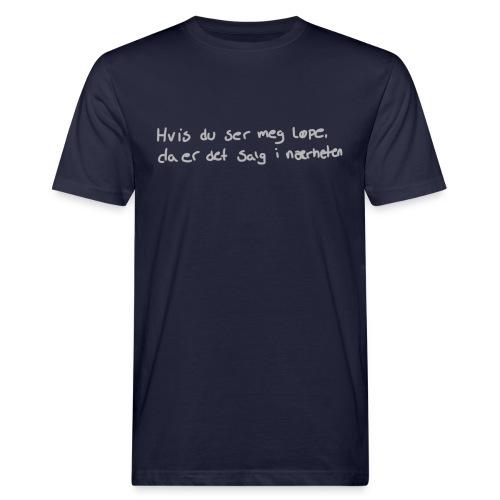 Salg løpe - Økologisk T-skjorte for menn