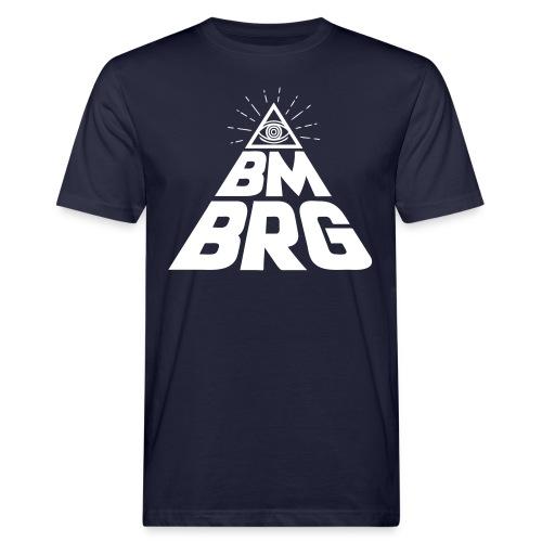 BMBRG Auge - Männer Bio-T-Shirt