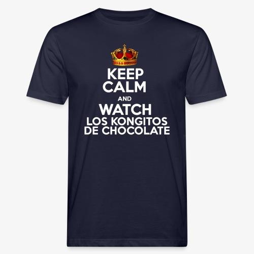 KEEP CALM AND WATCH LOS KONGITOS DE CHOCOLATE - Camiseta ecológica hombre
