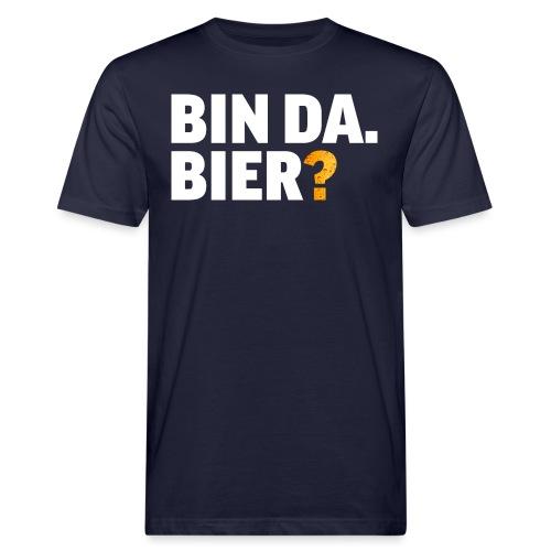 Lustig Bier Party Saufen Alkohol Geschenk - Männer Bio-T-Shirt