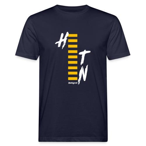 Batzer Salland Series Geel Heeten - Mannen Bio-T-shirt