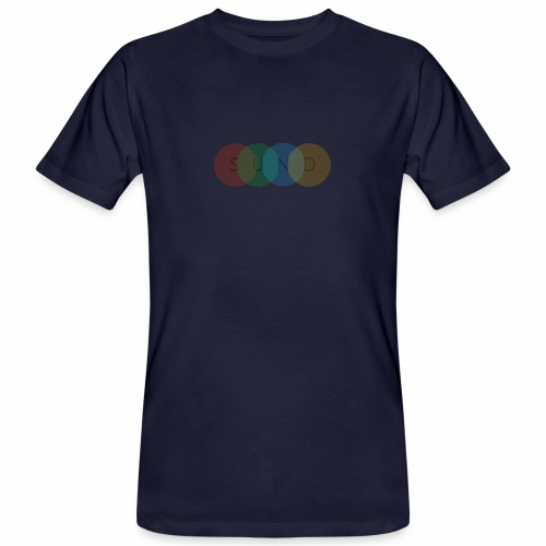 sund color - Mannen Bio-T-shirt