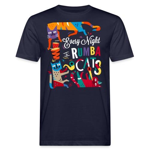 Chats Musique - Rumba salsa mambo - T-shirt bio Homme