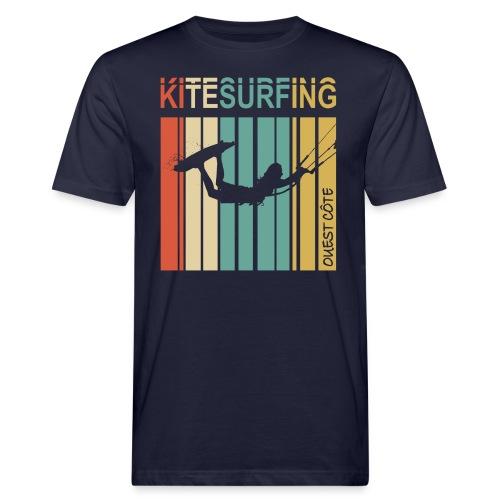 Kitesurfing Ouest Côte - T-shirt bio Homme