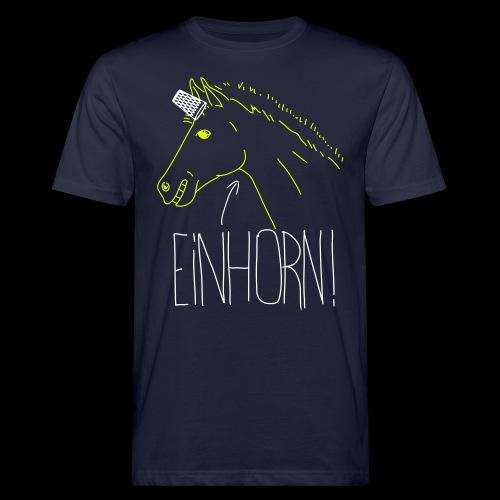 Einhorn - Männer Bio-T-Shirt