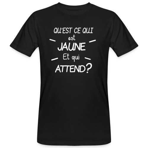 Edition Limitee Jonathan Black - T-shirt bio Homme