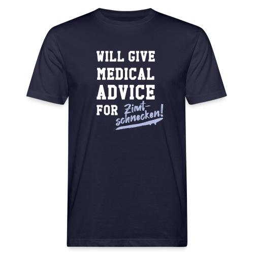 Zimtschnecken - Sonderedition - Männer Bio-T-Shirt