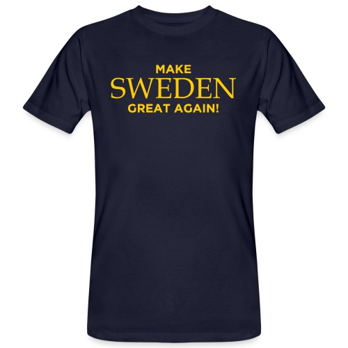 Make Sweden Great Again! - Ekologisk T-shirt herr