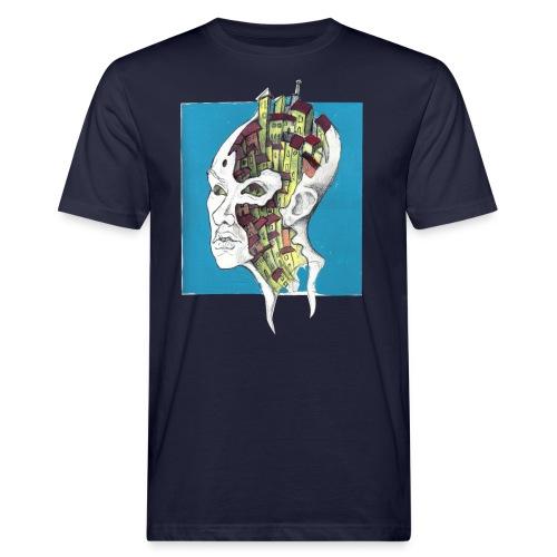city inside me - T-shirt ecologica da uomo