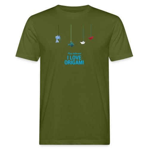 keep kalm and love origami versione estate - T-shirt ecologica da uomo