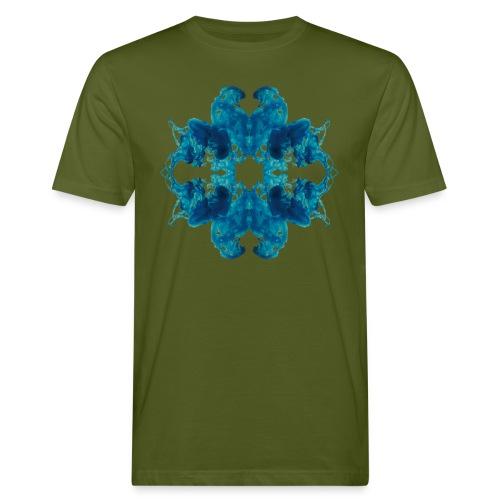 Tintenklecks unter Wasser - Männer Bio-T-Shirt