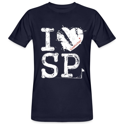 I love SP - Männer Bio-T-Shirt