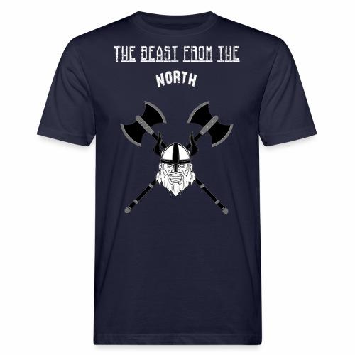 The Beast From The North White - Ekologisk T-shirt herr