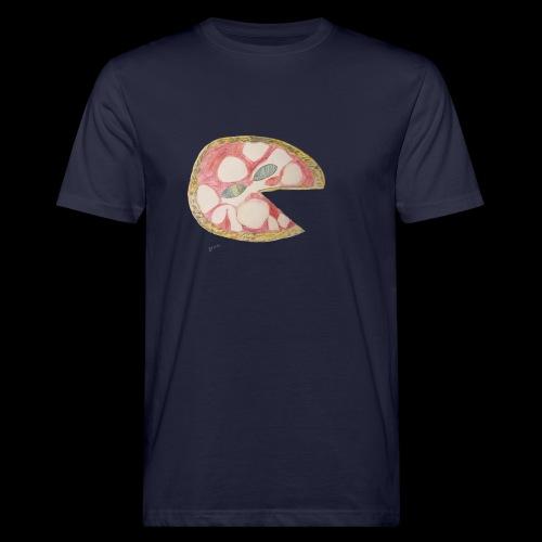 BY TAiTO Big Pizza - Miesten luonnonmukainen t-paita