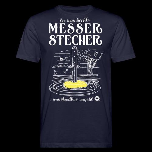 Messerstecher - Männer Bio-T-Shirt