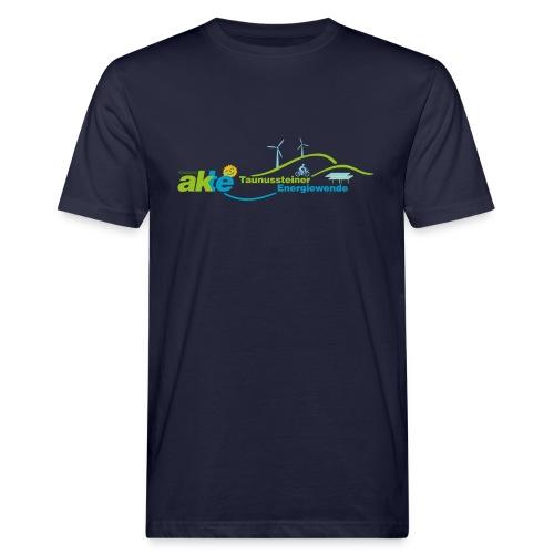 AKTE Arbeitskreis Taunussteiner Energiewende - Männer Bio-T-Shirt
