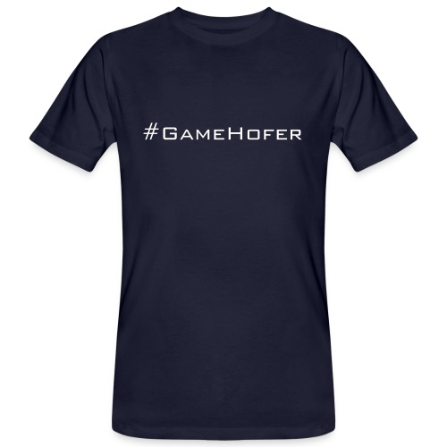 GameHofer T-Shirt - Men's Organic T-Shirt