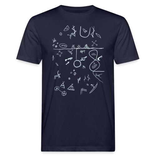 Runebomme - Økologisk T-skjorte for menn