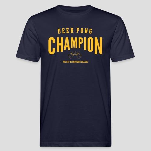 Beerpong Champion T-Shirt - Männer Bio-T-Shirt