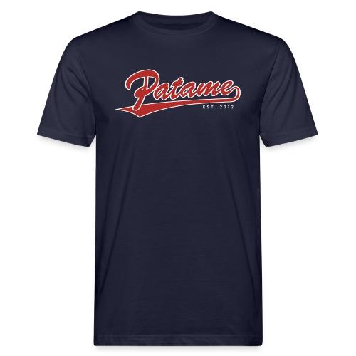 Patame Logo - Männer Bio-T-Shirt