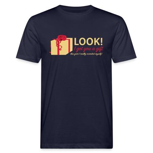 Täydellinen lahja - Miesten luonnonmukainen t-paita