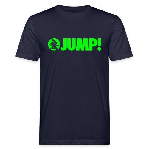 JUMP! - by Forest Jump Ultimate Frisbee Team - Männer Bio-T-Shirt
