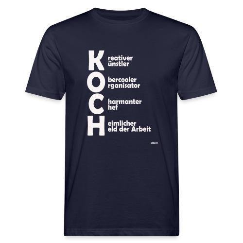 Was macht einen Koch aus? (Premium Shirt) - Männer Bio-T-Shirt