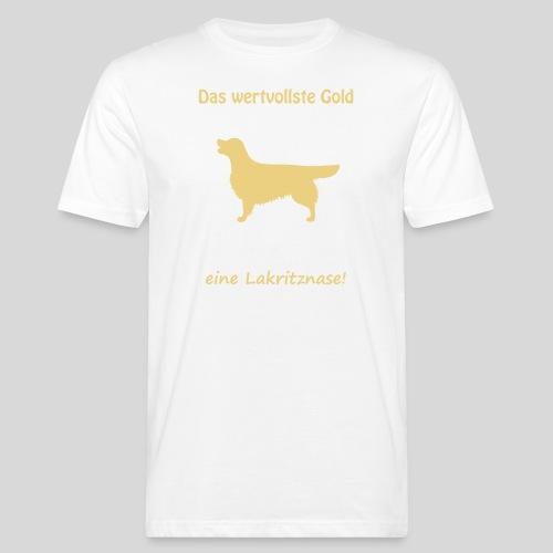 Golden, das wertvollste Gold - Männer Bio-T-Shirt