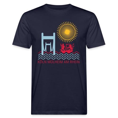 koelnmuelheim mit sonne - Männer Bio-T-Shirt