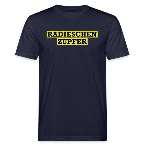 Radieschenzupfer - Männer Bio-T-Shirt