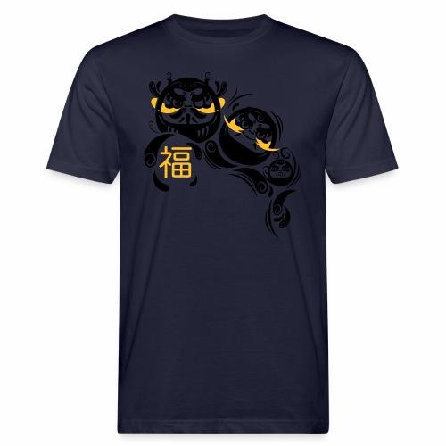 Daruma spirit - T-shirt ecologica da uomo