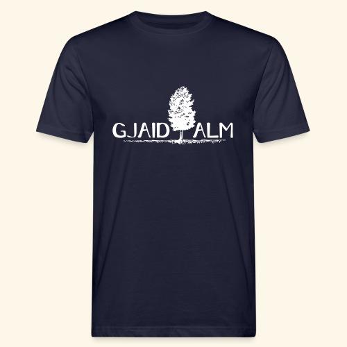 Logo Gjaid Pfade BW - Männer Bio-T-Shirt