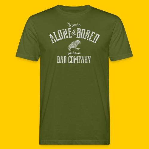 Alone and bored - Ekologisk T-shirt herr
