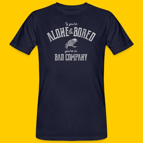 Alone and bored - Ekologisk T-shirt herr