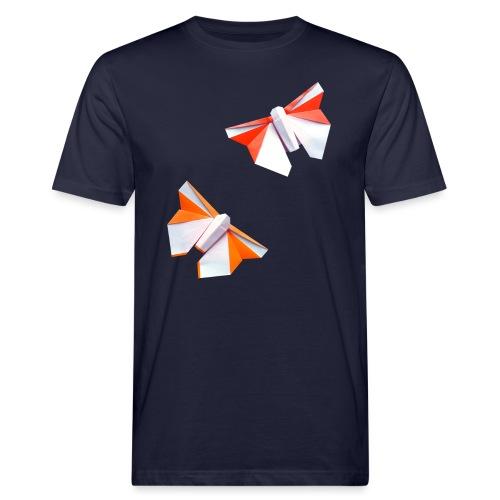 Butterflies Origami - Butterflies - Mariposas - Men's Organic T-Shirt