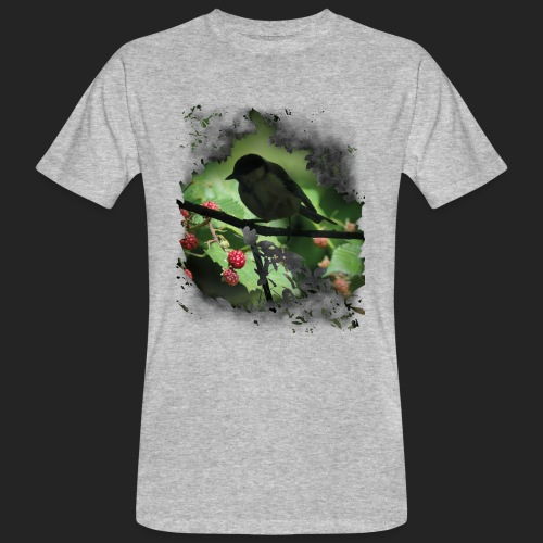 Petit oiseau dans la forêt - T-shirt bio Homme