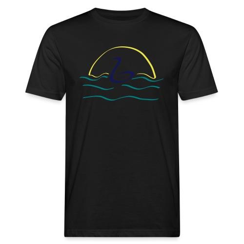 Swan - Mannen Bio-T-shirt