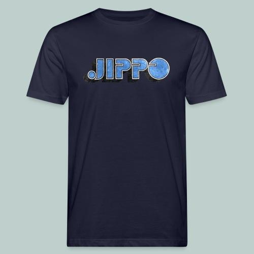 JIPPO LOGO (blue) - Miesten luonnonmukainen t-paita