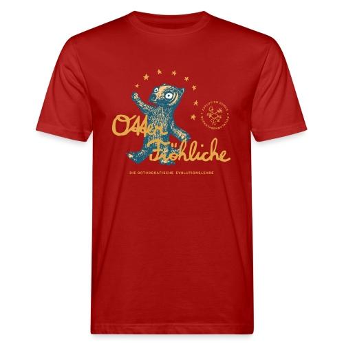 Otter Fröhliche - Männer Bio-T-Shirt