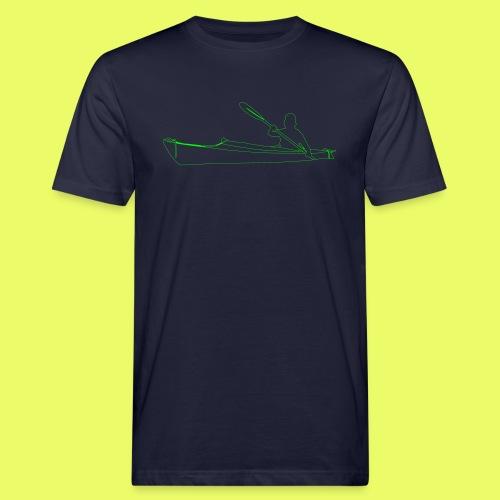 Shilouette Seekajak - Männer Bio-T-Shirt