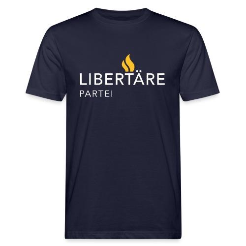 Logo Libertaere Partei - Männer Bio-T-Shirt