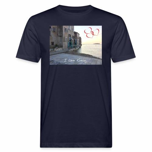I love Rovinj - Männer Bio-T-Shirt