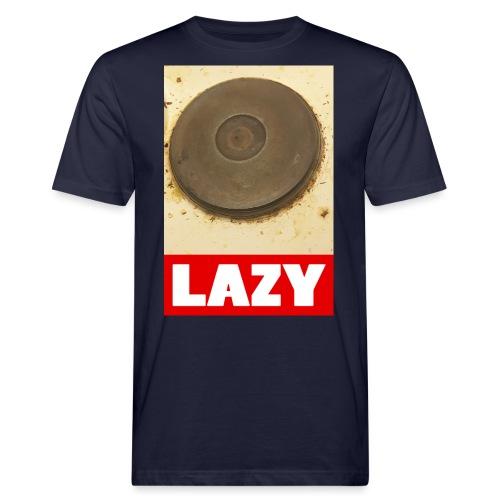 Lazy - Miesten luonnonmukainen t-paita